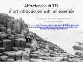Affordances short introduction_laru_let_2011