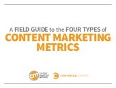 A field guide to the 4 types of content marketing metrics