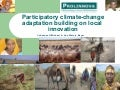 Yohannes GebreMichael: Participatory climate-change adaptation building on local innovation