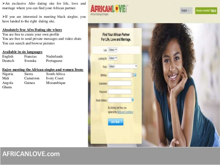 Afro dating site uk