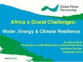 Africa's Grand Challenges, by Dr. Ania Grobicki