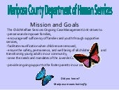 Agency analysis of Mariposa County ...