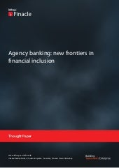 Agency banking:new frontiers in fin...