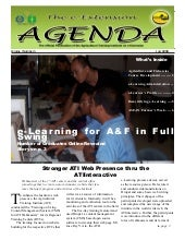 e-Extension Agenda 1st issue