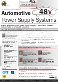 2nd International Conference Automotive 48 V Power Supply Systems