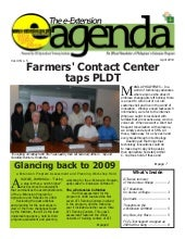 e-Extension Agenda 6th issue
