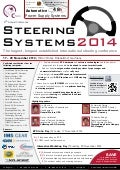 8th Annual Conference Steering Systems 2014 - 17 - 20 November, 2014 - Hilton Hotel , Duesseldorf, Germany
