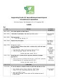 Workshop programme [En] - Supporting ICT-based Entrepreneurship and Innovations in Agriculture