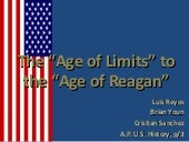 Age of limits and reagan chapter 31...