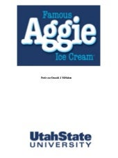 Aggie Icecream History