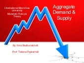 Aggregate demand & supply