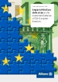 Impact of the Euro debt crisis on the investment behavior of 50+ European Investors