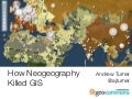 How Neogeography Killed GIS