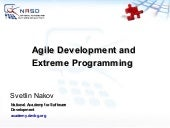 Agile Methodologies And Extreme Pro...