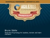 Agile2013 Talk: Tools from Psycholo...