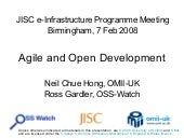 Agile And Open Development