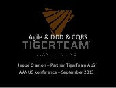 Agile, Architecture, DDD and CQRS
