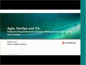 Agile, DevOps and ITIL Implementing Enterprise Release Management with Agility and Control