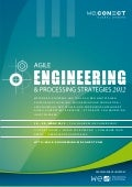 Agile Engineering & Processing Strategies 2012 Agenda
