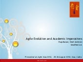 Agile Evolution and Academic Imprea...