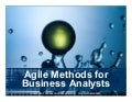 Agile for Business Analysts
