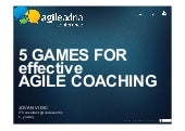 5 Games for Effective Agile Coaching