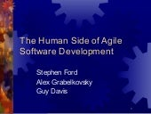 The Human Side of Software Development