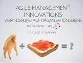 Agile Management Innovations SEACON...