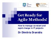 Get Ready for Agile Methods: How to...
