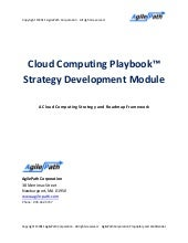 AgilePath Cloud Playbook Strategy T...
