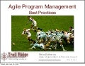 Agile Program Management Best Practices