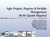 Agile projects.programs.portfolio