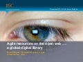 Agile resources on the open web …. a global digital library