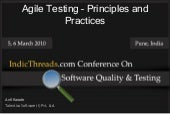 Agile testing principles and practi...
