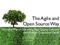 The Agile and Open Source Way (AgileTour Brussels)