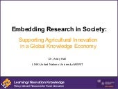 Embedding Research in Society: Supp...