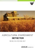Agricultural Environment Detector by ACMAS Technologies Pvt Ltd.