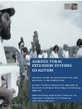 Agricultural extension systems coalition white paper ar ilyas
