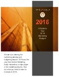 A guide to your 2016 marketing budget e book   new dawn media