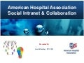 American Hospital Association Social Intranet & Collaboration Platform