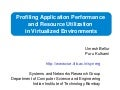 "Apache Hadoop India Summit 2011 talk ""Profiling Application Performance"" by Umesh Bellur"