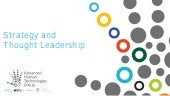 Strategy and Thought Leadership: Advanced Human Technologies Group
