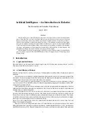 Ai robotics abstract110901