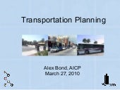 AICP Prep Course - Transportation M...