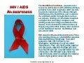 AIDS, an awareness, necessary.