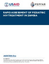 AIDSTAR-One Rapid Assessment of Ped...