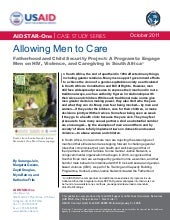 Allowing Men to Care: Fatherhood Pr...