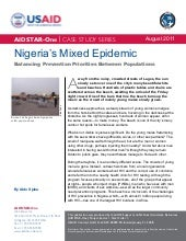 AIDSTAR-One Nigeria's Mixed Epidemi...