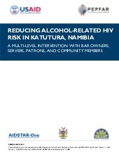 AIDSTAR-One Reducing Alcohol-relate...