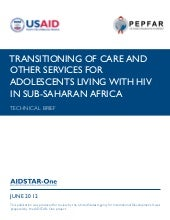 AIDSTAR-One Technical Brief: Transi...